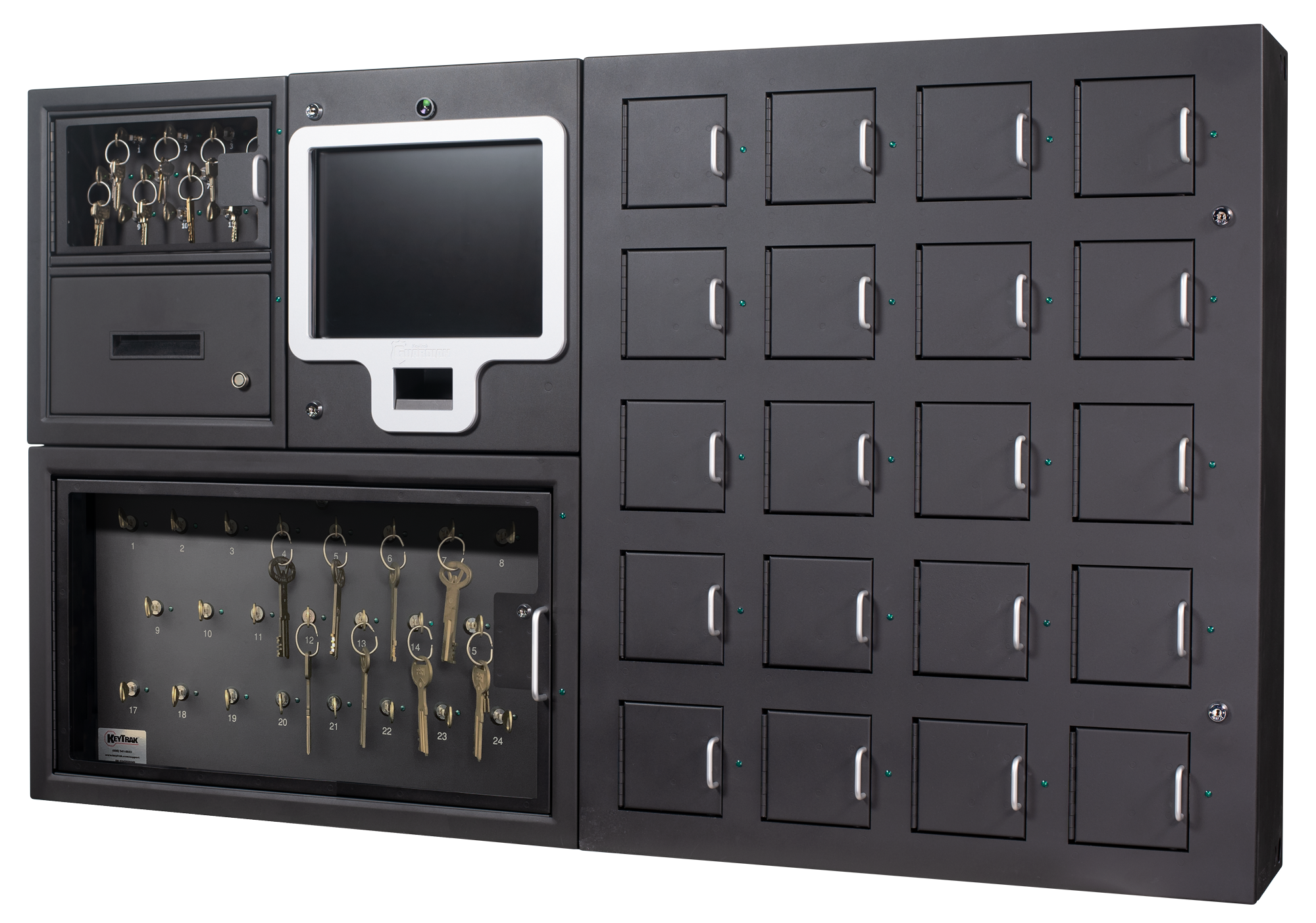 Guardian VSP with low-density key panel