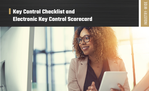 Key control checklist and scorecard thumb image
