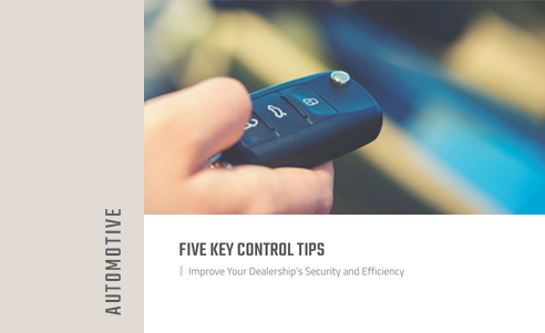 Five Key Control Tips for Automotive Dealerships