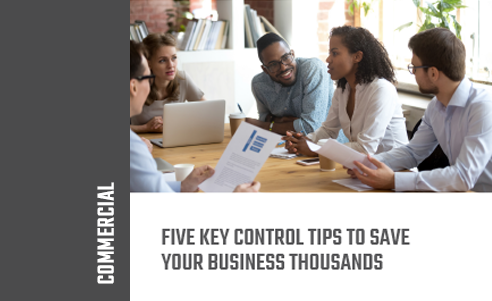 "Thumbnail for ""Five Key Control Tips to Save Your Business Thousands"" whitepaper"